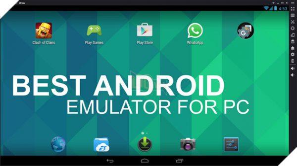 Các phần mềm giả lập android trên PC - MEmu