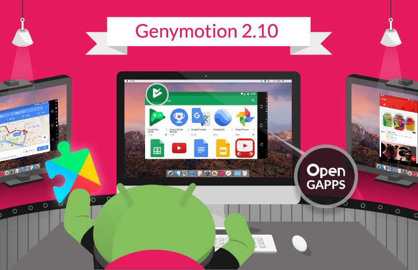 GenyMotion là phần mền giả lập nhẹ nhất hiện nay