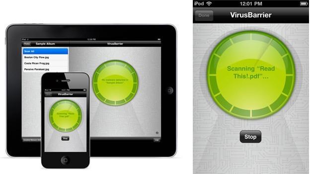 Các phần mềm diệt virus cho iPhone
