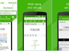 Những phần mềm dịch tiếng Trung tốt nhất hiện nay