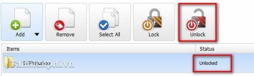 Cách cài đặt pass cho folder bằng phần mềm Folder Lock