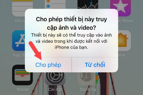 cách copy ảnh từ iphone sang máy tính