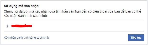 Mở khóa tài khoản facebook bị vô hiệu hóa